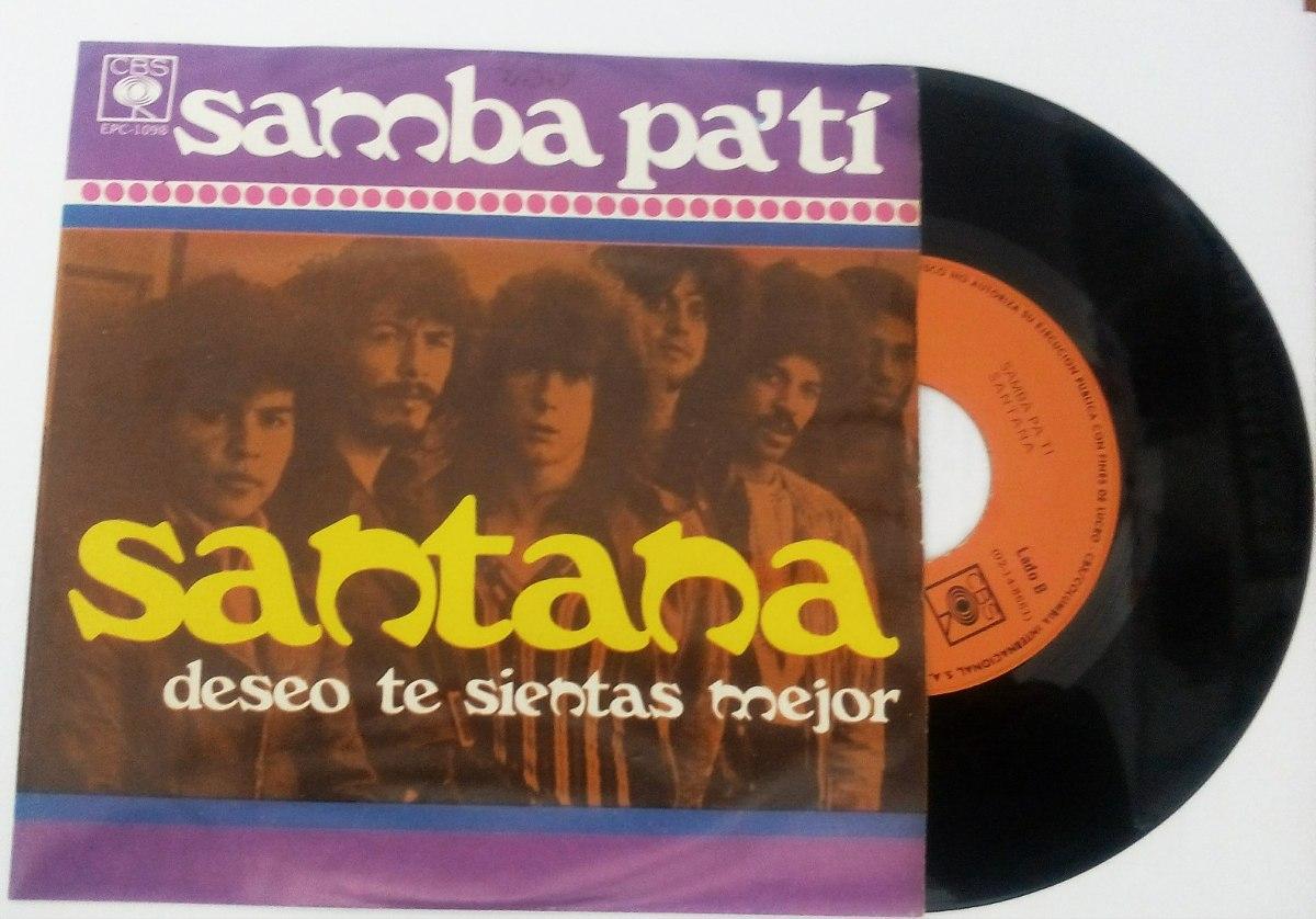 Santana Samba Patideseo Que Te Sientas Mejor Sencillo 7