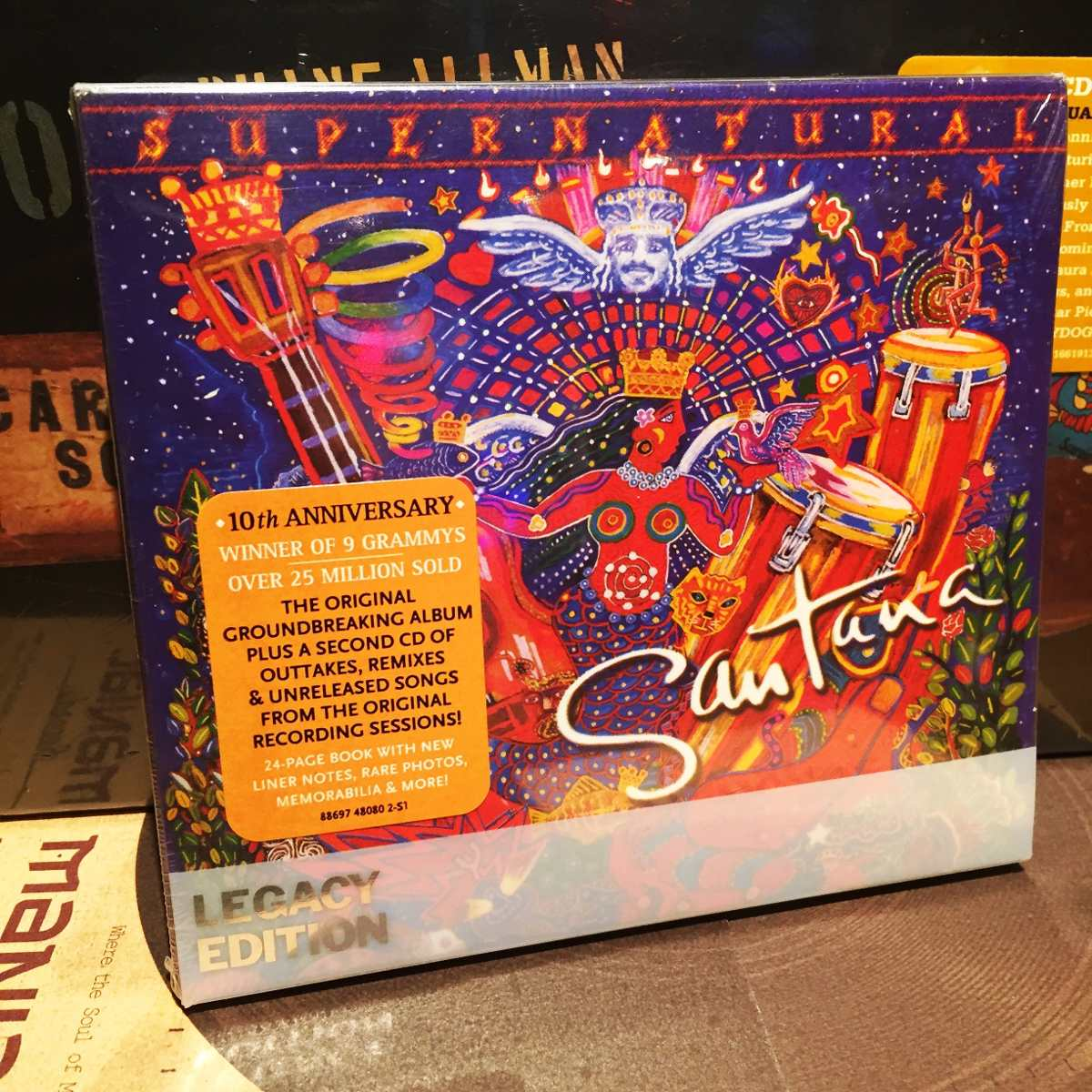 santana supernatural legacy edition deluxe 2 cd 724 46 en