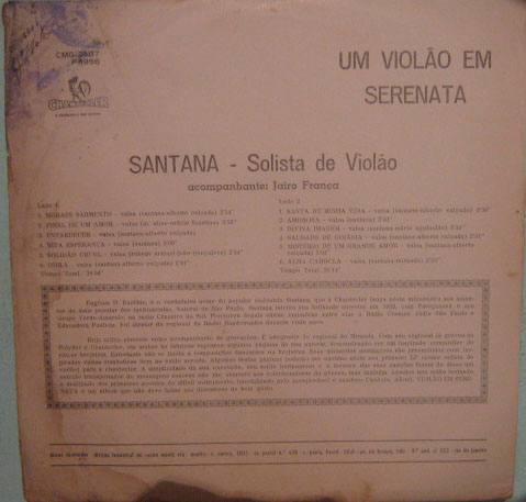 santana - um violão em serenata - 1966