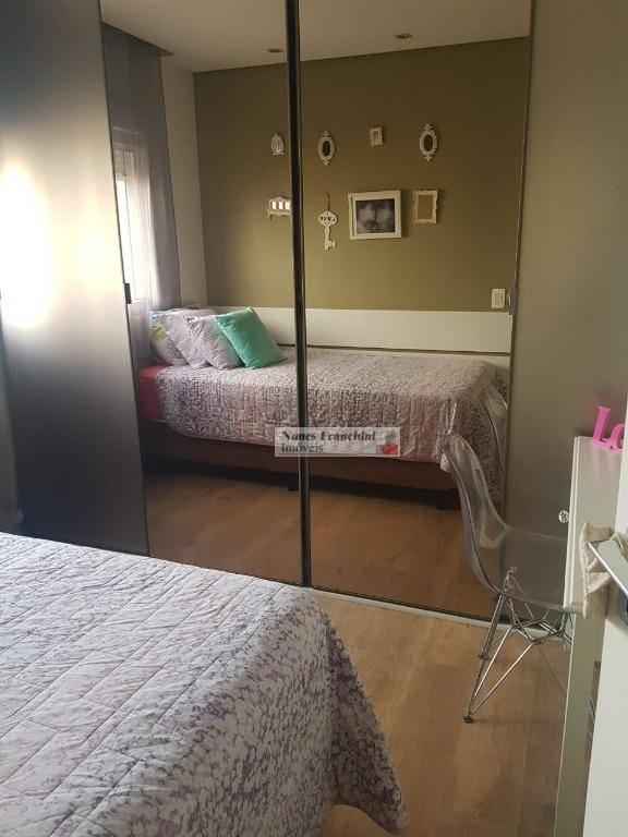 santana - zn/sp-  apartamento 150 m², 3 suítes, 3 vagas - r$ 1.350.000,00 - ap7096