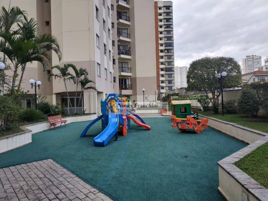 santana - zn/sp - apartamento, 55 m², 2 dormitórios,  1 vaga -  r$ 350.000,00 - ap7185