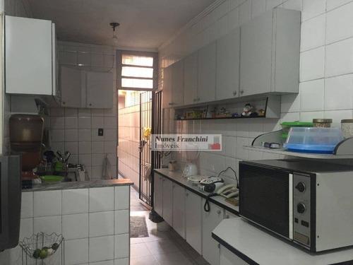 santana zn/sp - sobrado 140 m² com vista espetacular, 3 dormitórios, 1 suíte, 2 vagas - r$ 636.000,00 - so1110