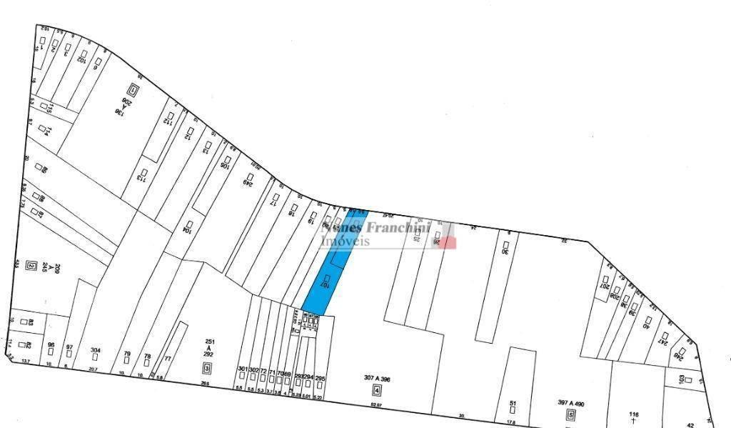 santana/zn-sp - terreno de 500m² para venda - te0085