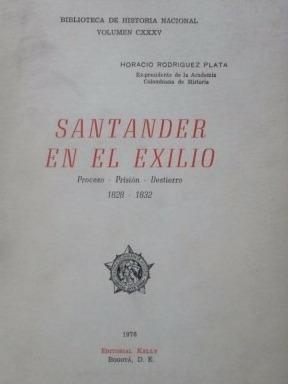 santander en el exilio editorial kelly 1976 b250