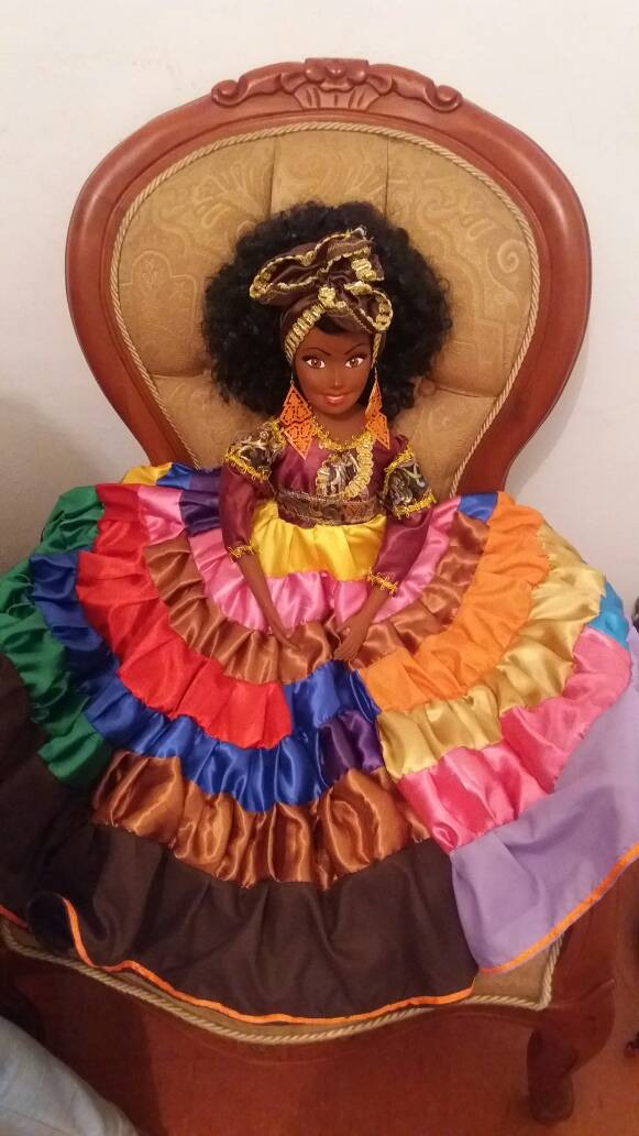 Santeria Gitana Española Oshun Yemaya Oya Desde 40c Muñeca Bs