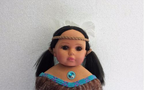 santeria muñeca  india norteamericana 40cm