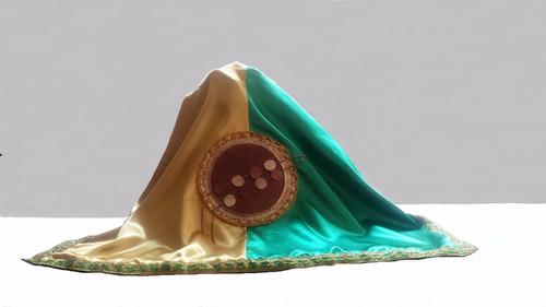 santeria pañuelo paño de orula yoruba  para sopera y trono