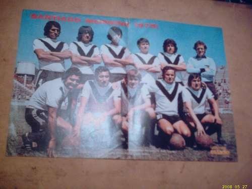 santiago morning 1975 - poster revista estadio