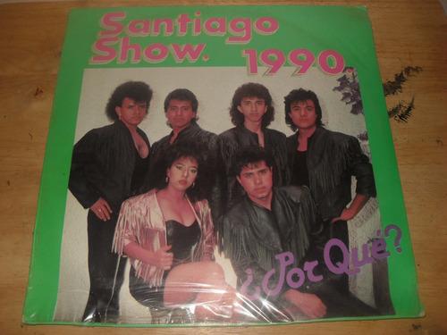 santiago show 1990 lp disa nuevo sellado