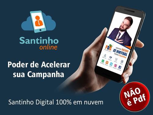 santinho digital online virtual site candidatos link na bio