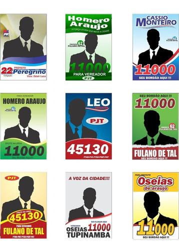 santinhos políticos vetorizados logos políticas por download