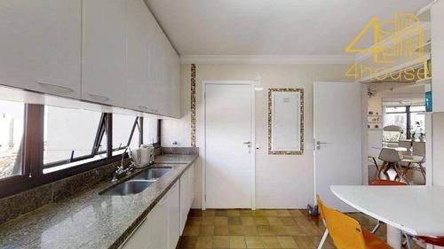 santo amaro - linda cobertura duplex  271m²  04 dorms (1 suíte)   04 vagas na rua dos brasões para venda. - co0144