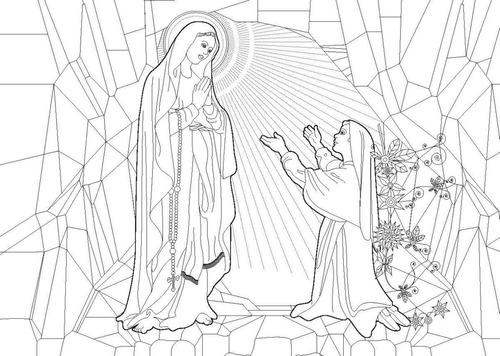 santos católicos livro para colorir moldes bordar estampar