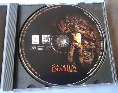 santos diablos soundtrack cd raro made in mexico 2003  bvf
