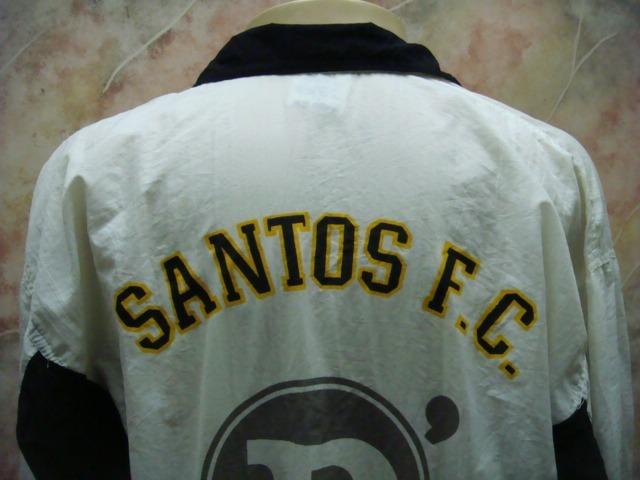e84dbf5ece Santos F. C. Agasalho Passeio Dellerba Antigo S-67 - R  649