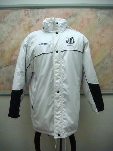 santos f. c. blusão inverno futebol umbro antigo s-106