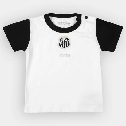 263e796ed92f7 Camisa Santos Futebol Clube Bebê Baby Infantil Peixe Campeao - R  35 ...