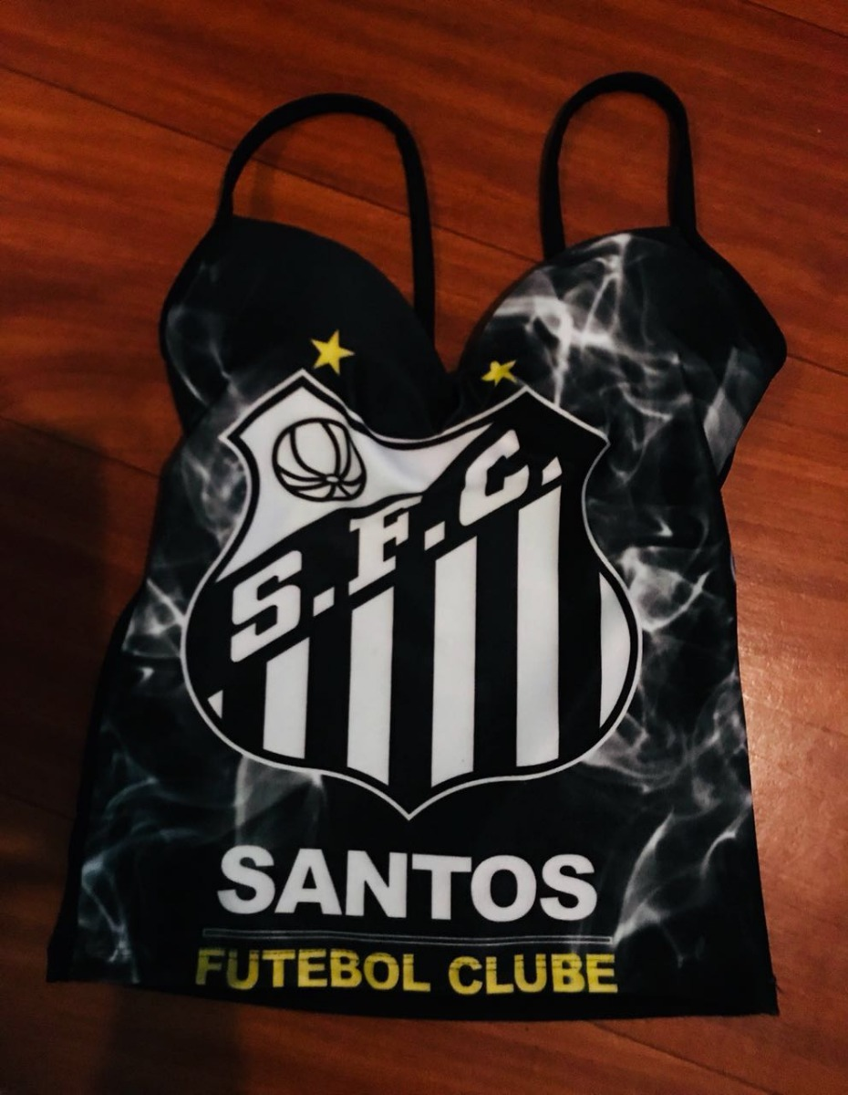 5e8d1b81ee santos futebol club poliesportivo blusa time feminina sexy. Carregando zoom.