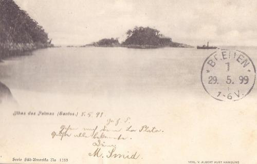 santos - ilha das palmas - 1899 - 04061732