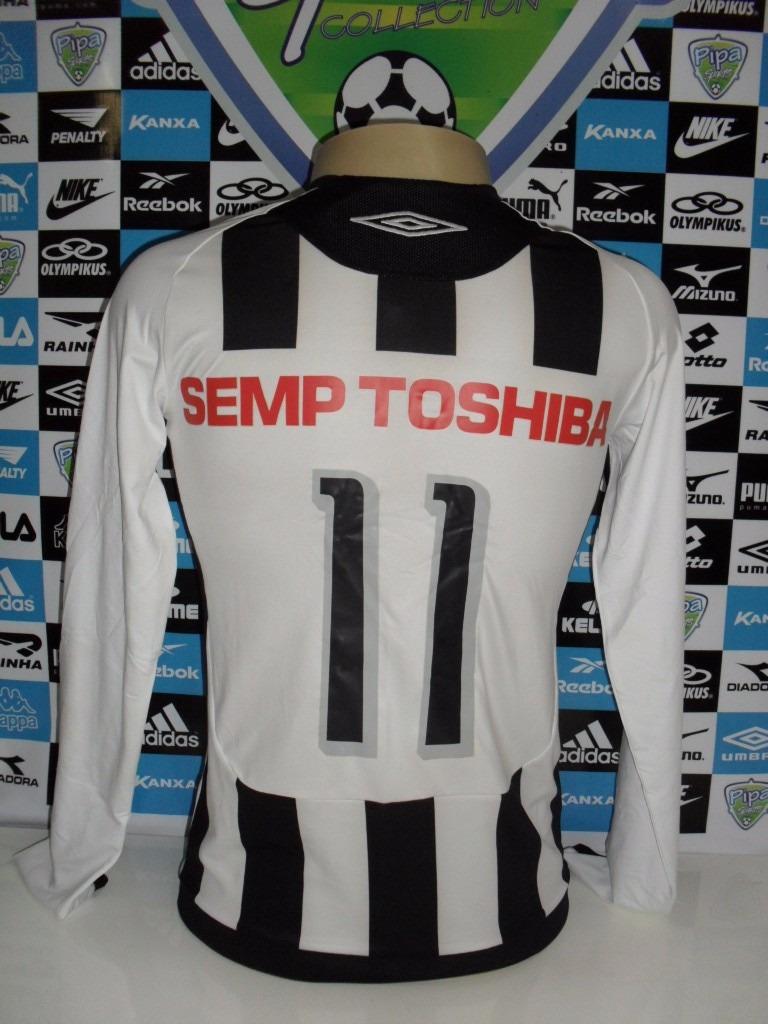 Santos M.longa Nº11 Tam. P 48x66 Oficial Umbro Nova - R  160 a9da244750c64