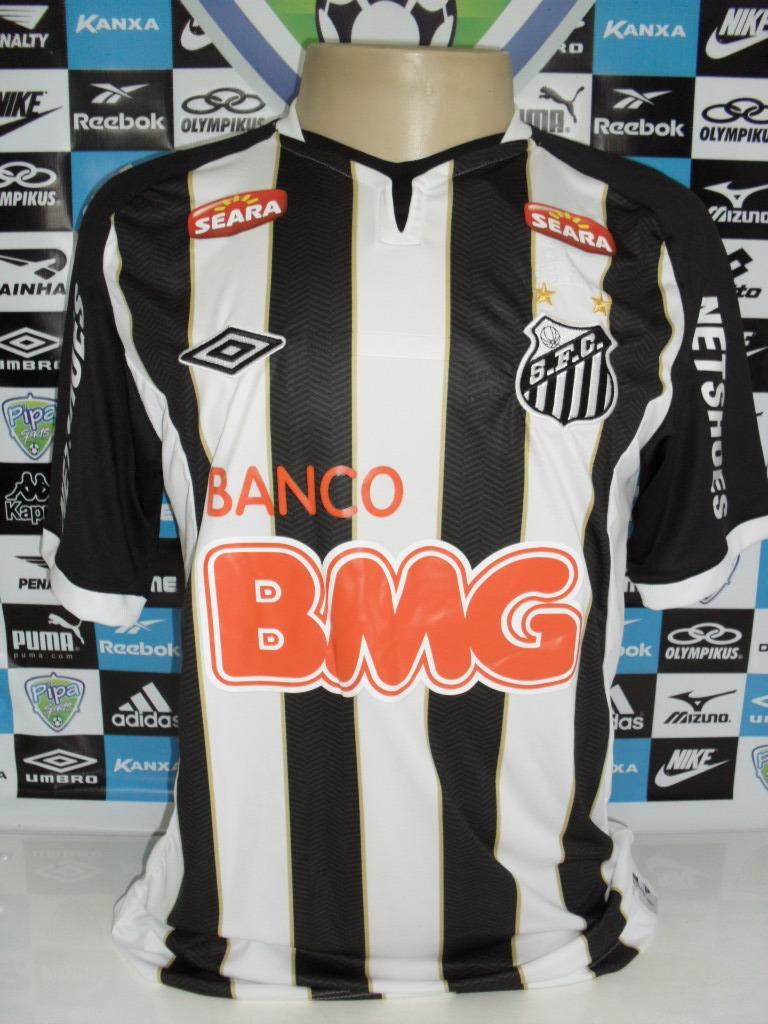 Santos Nº7 Manga Curta Tam. Gg 58x76 Oficial Umbro Nova - R  160 6a7e6a8446b82