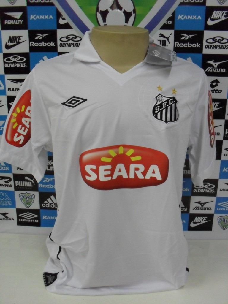 9a62274ecd Santos Nº7 Robinho Manga Curta Tam. Gg 58x75 Oficial Umbro - R  200 ...