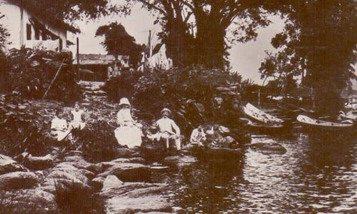 santos - praia da bertioga - 1913