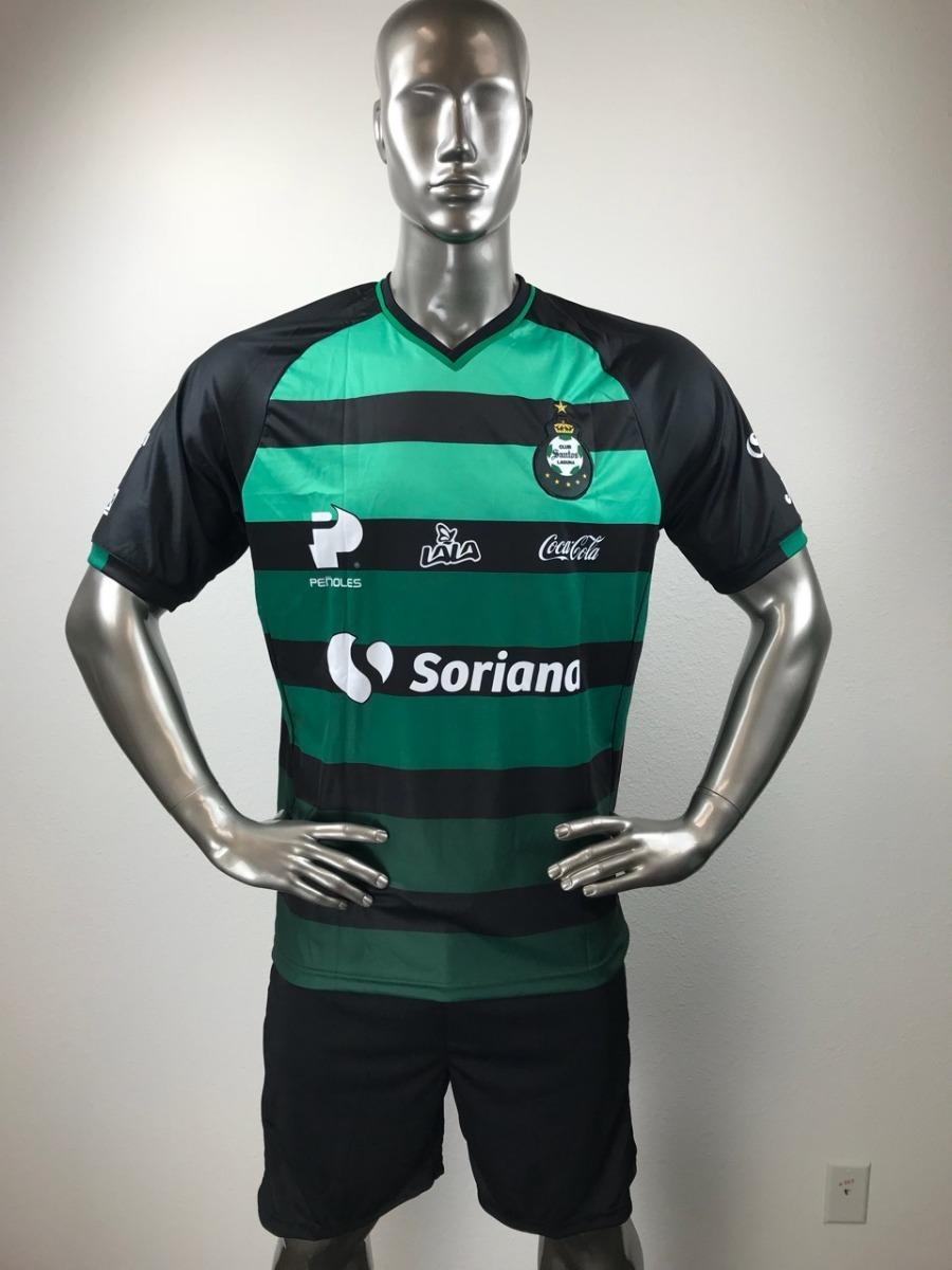 20703f36ea Santos Uniforme Futbol Jersey Playera Personalizada -   285.00 en ...