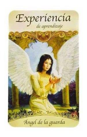 santos y ángeles, doreen virtue, 44 cartas y manual de uso