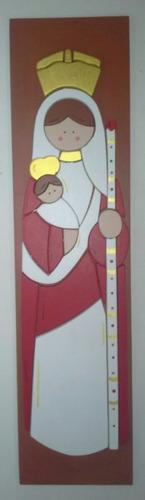 santos y virgenes en madera santa eduviges y mas