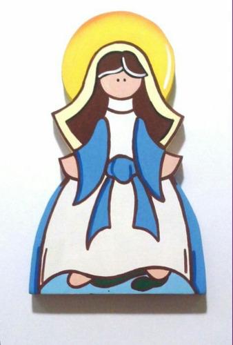 santos y virgenes en relieve y mas