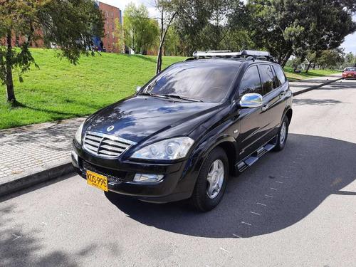 sanyong kyron 7 pasajeros modelo 2011 buen estado