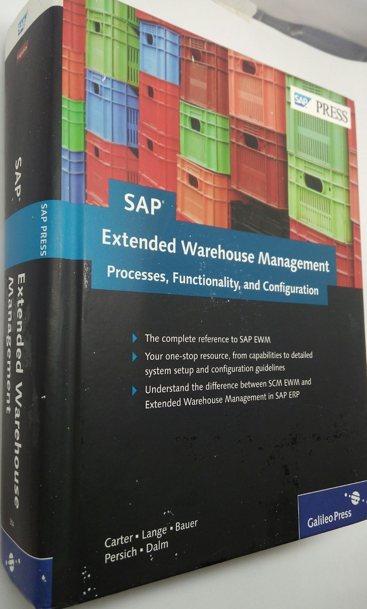 Sap Extended Warehouse Management: Processes, Functionality, - $ 849 00