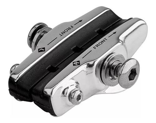 sapata alumínio de freio ferradura speed c/ refil absolute