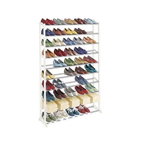 sapateira 100 calcados estante gigante 50 pares de sapatos