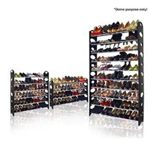 sapateira 24 sapatos desmontavel com 4 prateleiras vertical