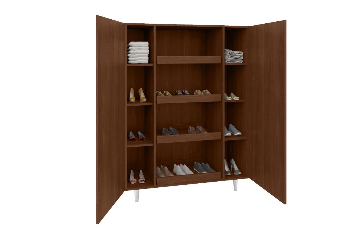 Sapateira arm rio multiuso organizador sapatos cor - Organizador armario ...
