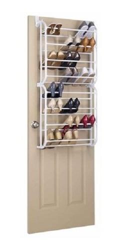 sapateira de porta para 48 calcados vertical 8 andares metal