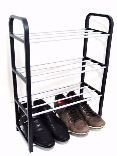 Herron Sapateira Organizador 8 níveis Empilhável e durável o sapato prateleira de armazenamento