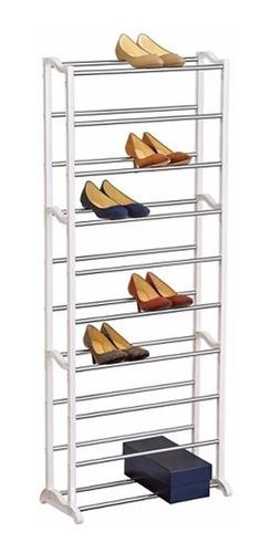 sapateira p/ quarto closet móvel com capacidade de 30 pares