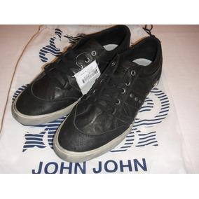 640c764ef98 Tênis John John - Mod. Otto - Couro Legítimo (cód. R415)