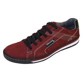 79d64d2df74 Sapatenis Pegada Vermelho Masculino - Sapatos no Mercado Livre Brasil