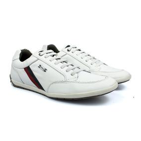 1995532cb11 Tenis Polo Em Couro Legitimo - Calçados