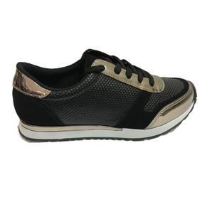 4f6fcae43f4 Tenis Metalizado Via Marte - Sapatos para Feminino no Mercado Livre ...