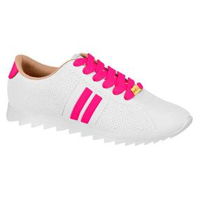 c136b4b7b Rosa Neon Tenis T%c3%aanis Feminino Olympikus Start Branco ...