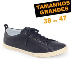 bb385684e Sapato Couro Legítimo Anatomic Gel Masculino Sapatenis - Sapatos no ...