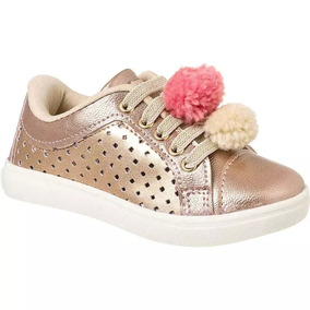c43b9fd90e2 Tenis Pompom Molekinha - Sapatos no Mercado Livre Brasil