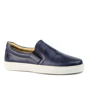 bec70e23c4 Sapatênis Masculino 4048 Em Couro Vecchio Petroleo Doctor Sh por Doctor  Shoes