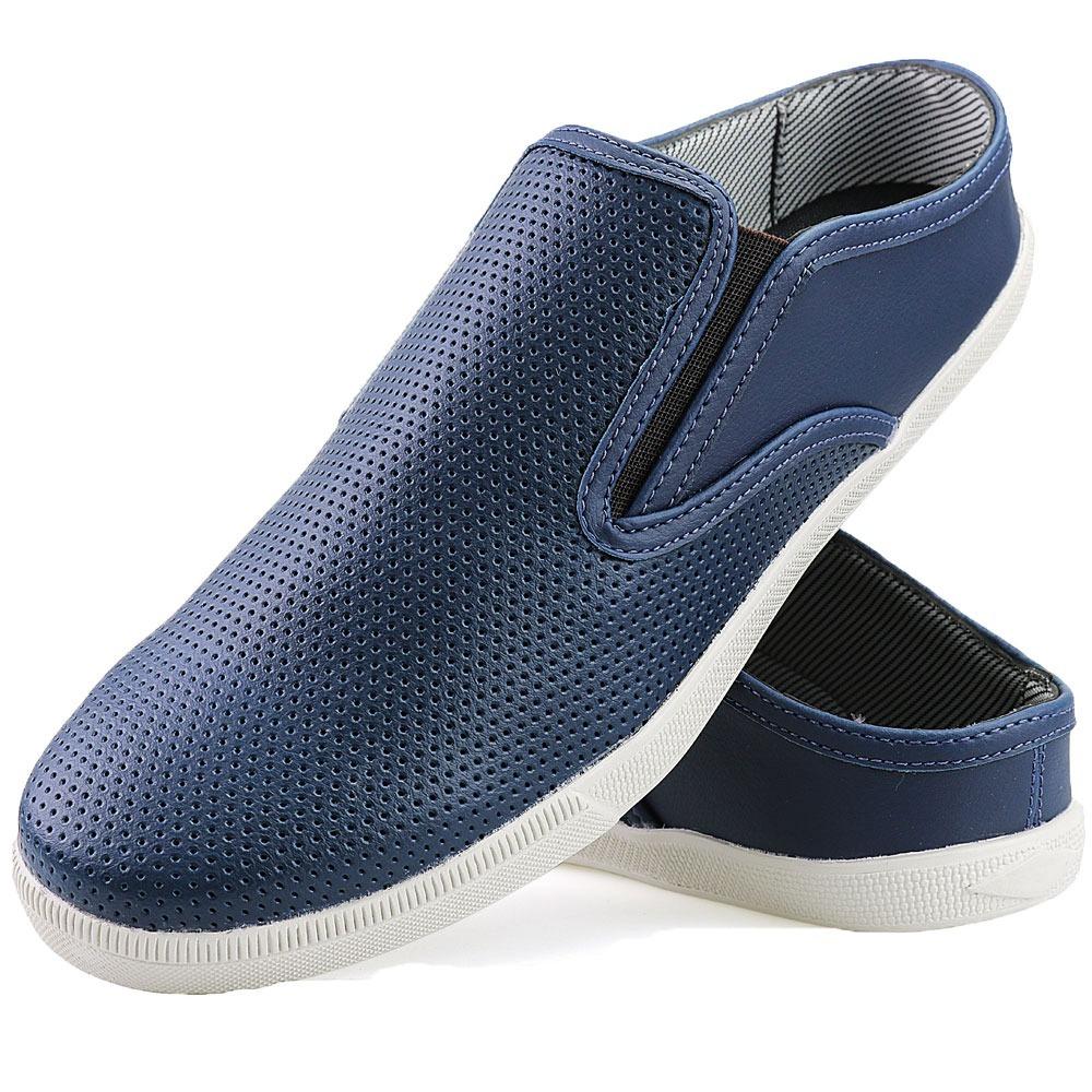 9c97faeb2f sapatenis masculino casual confortável azul moda verão 2019. Carregando  zoom.