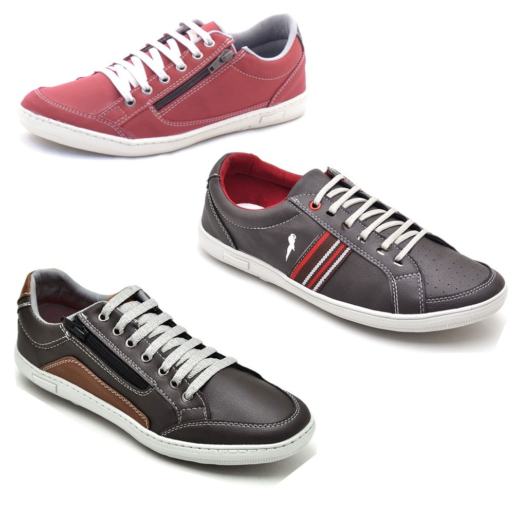 6ad59e77ac8 sapatenis polo blu dex shoes kit 6 pares frete gratis. Carregando zoom.